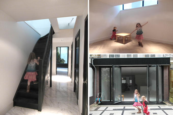 Ontwerp - Souterrain/Kelder, Architect Amsterdam